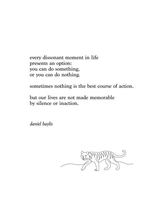 daniel baylis poem