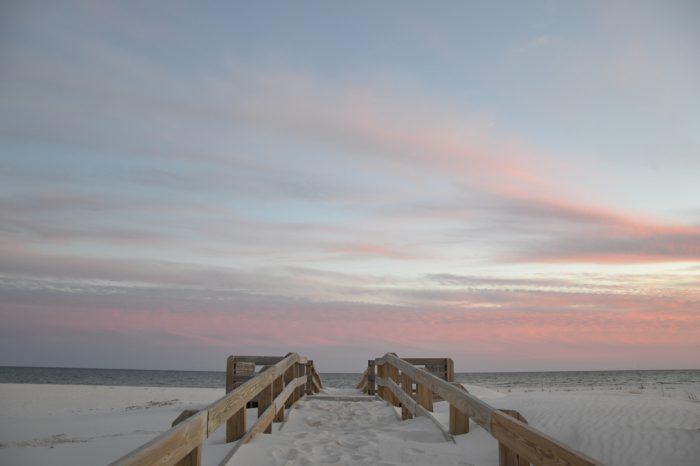 stock images daniel baylis beach in pensacola florida